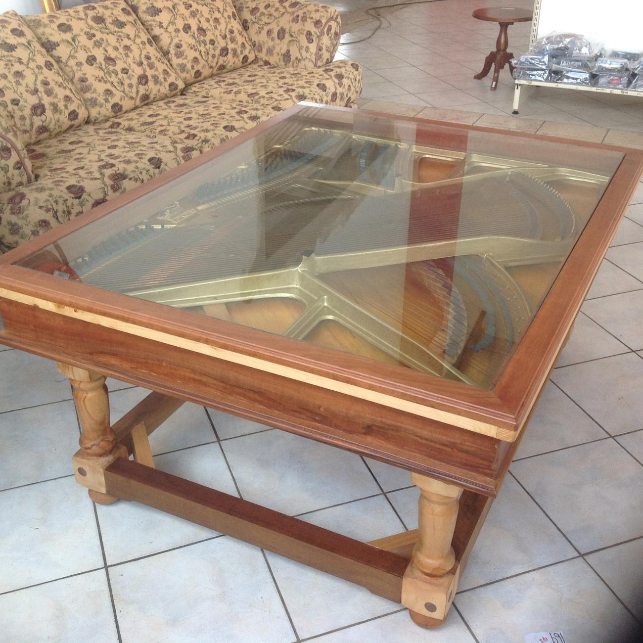 Up Cycled Piano Coffee Table