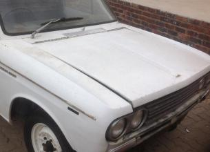 1970 Datsun 1300 Bakkie - Running - Papers and license in order - Finish the project and you have a great little bakkie