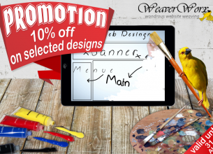 10% off selected Website Designs