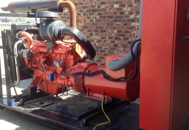 250 Kva Scania Generator - Only 300 Hours - As good as new