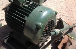 30 HP Circular Saw - 3 Phase - Good working condition - Needs to be assembled - Sold Voetstoots
